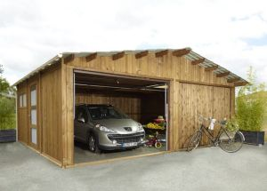 Garages preaux abri garage en - Tarif construction garage ...